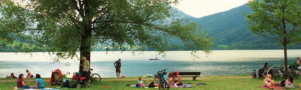 Bademöglichkeit am Schliersee - Gästehaus Sonnenstatter